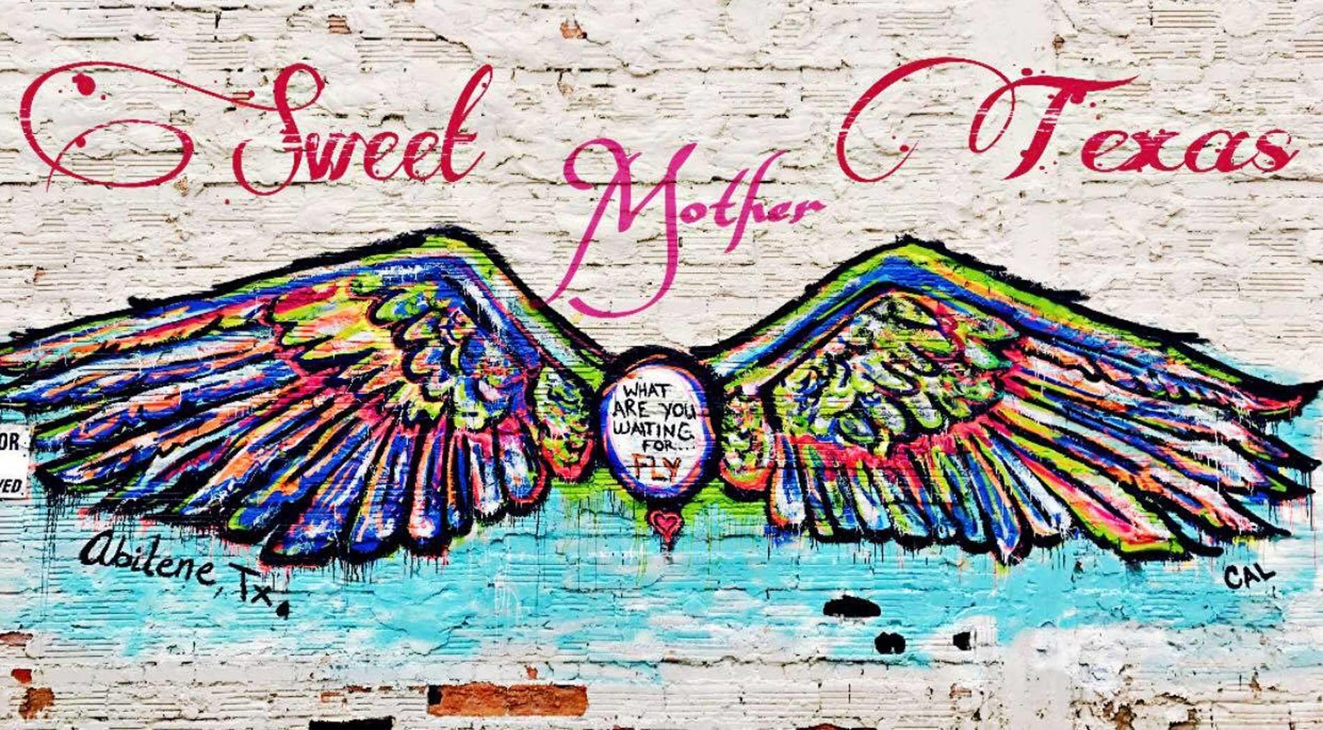 Sweet Mother Texas - mural logo